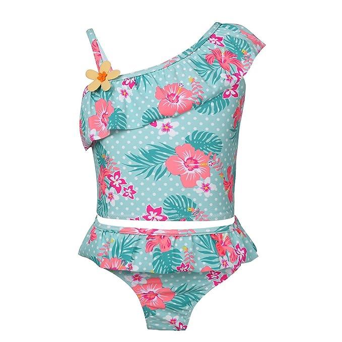 YiZYiF Traje de Baño Bikini Dos Piezas para Niñas Bañador ...