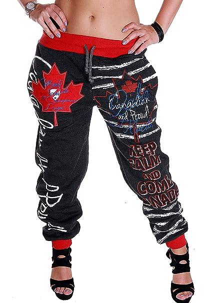 Cinc Damen Jogginghose Trainingshose Schlafanzug Hose Power Joggen Sweatpants