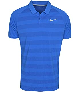 990b5906 Amazon.com: Nike New Zonal Cooling Stripe Momentum Golf Polo: Sports ...