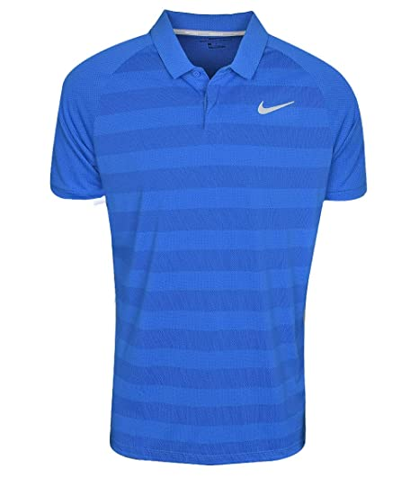 NIKE Mens Zonal Cooling Stripe STD Golf Polo: Amazon.es: Ropa y ...