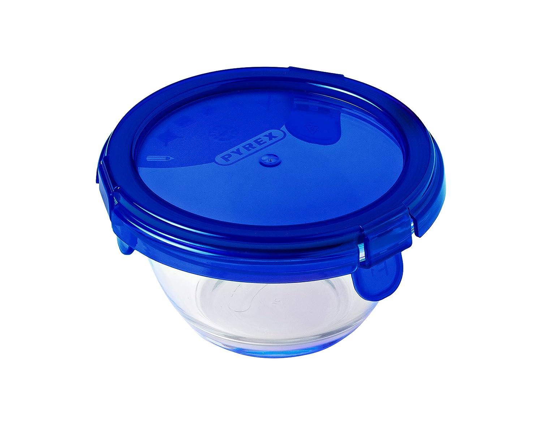 Azul 2.41 cm Pyrex Cook /& Go Recipiente Redondo 15CM 68CL con Tapa Cook/&GO