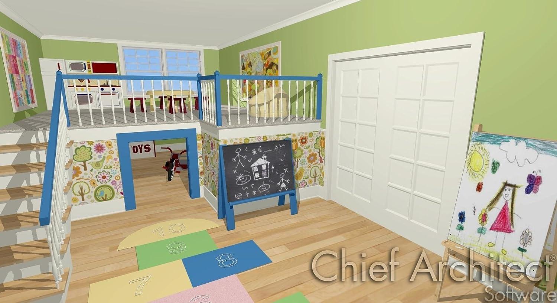 mazon.com: hief rchitect Home Designer Interiors 2017: Software - ^
