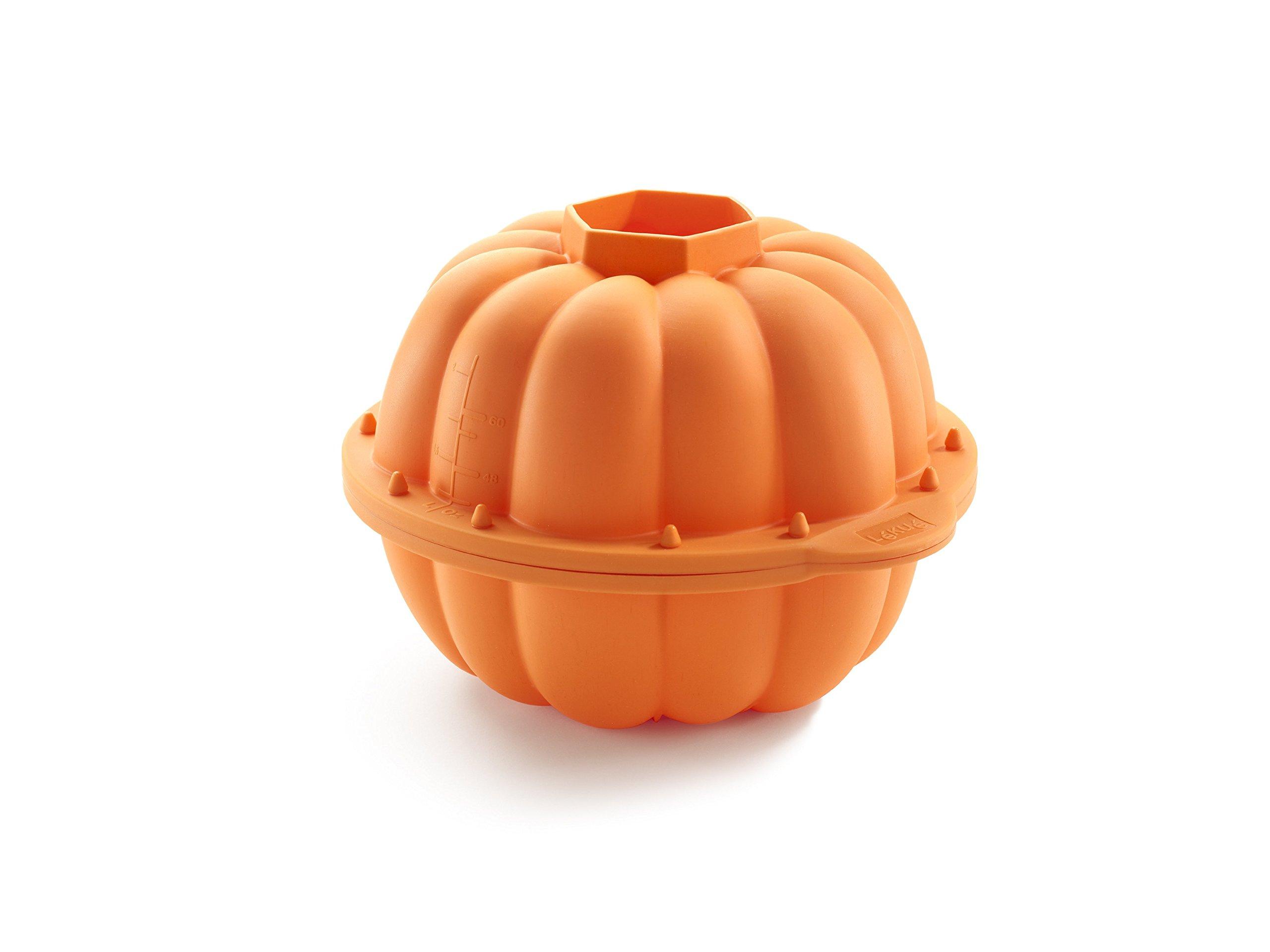 Lekue Pumpkin 3D Mold, Orange by Lekue (Image #1)