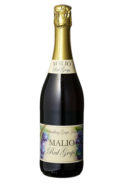 イタリア産100%天然素材使用 ノンアルコールスパークリング ワイン マリオ レッドグレープ 750ml