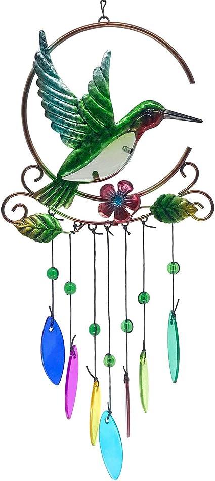 glass wind chimes,wind chimes,garden wind chimes,sun catchers,garden art,yard art,garden gifts,gifts under 30,housewarming gifts birthday