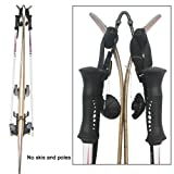 YYST V Style Ski Wall Mount Ski Wall Holder - Hold