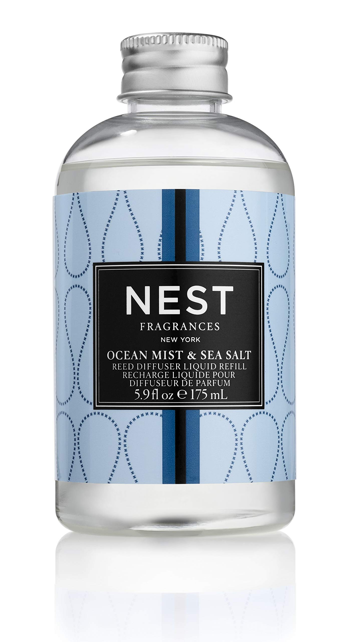 NEST Fragrances Ocean Mist & Sea Salt Reed Diffuser Liquid Refill by NEST Fragrances