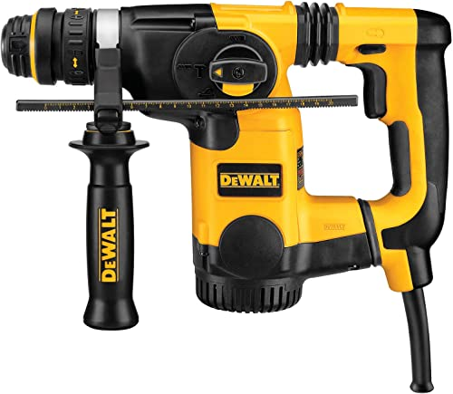 DEWALT D25324K 1-Inch L-Shape SDS Rotary Hammer Kit with Quick Change Chuck