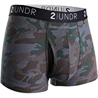 "2UNDR Mens Swing Shift 3"" Trunk Boxers Underwear"