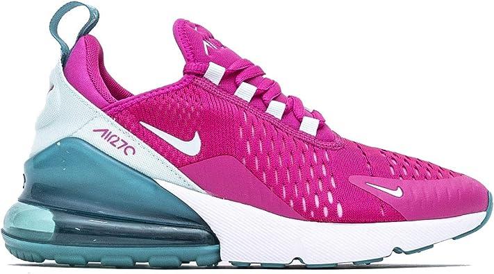 Todo tipo de ángel Darse prisa  Amazon.com | Nike Air Max 270 GS Kids Cabana/Tint Teal/White/Laser Fuchsia  CJ9979-300 | Running