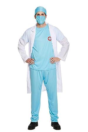 Emmas Wardrobe Cirujano friega para los Hombres-Ideal para médico ...