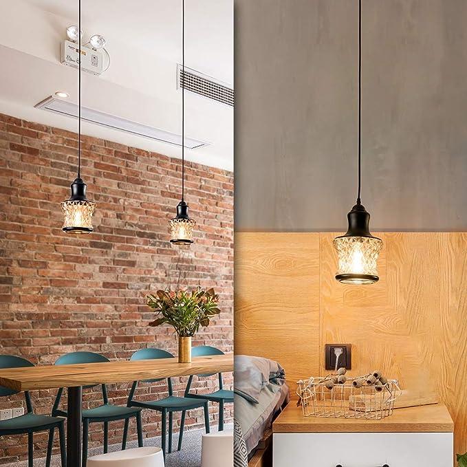 Amazon.com: LULING - Lámpara de techo colgante de cristal ...