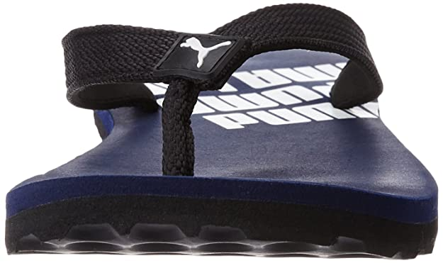 ac86fa04d Puma Unisex Issac Ng Dp Navy Blue and Black Flip Flops Thong Sandals - 8 UK  India (42 EU)  Buy Online at Low Prices in India - Amazon.in