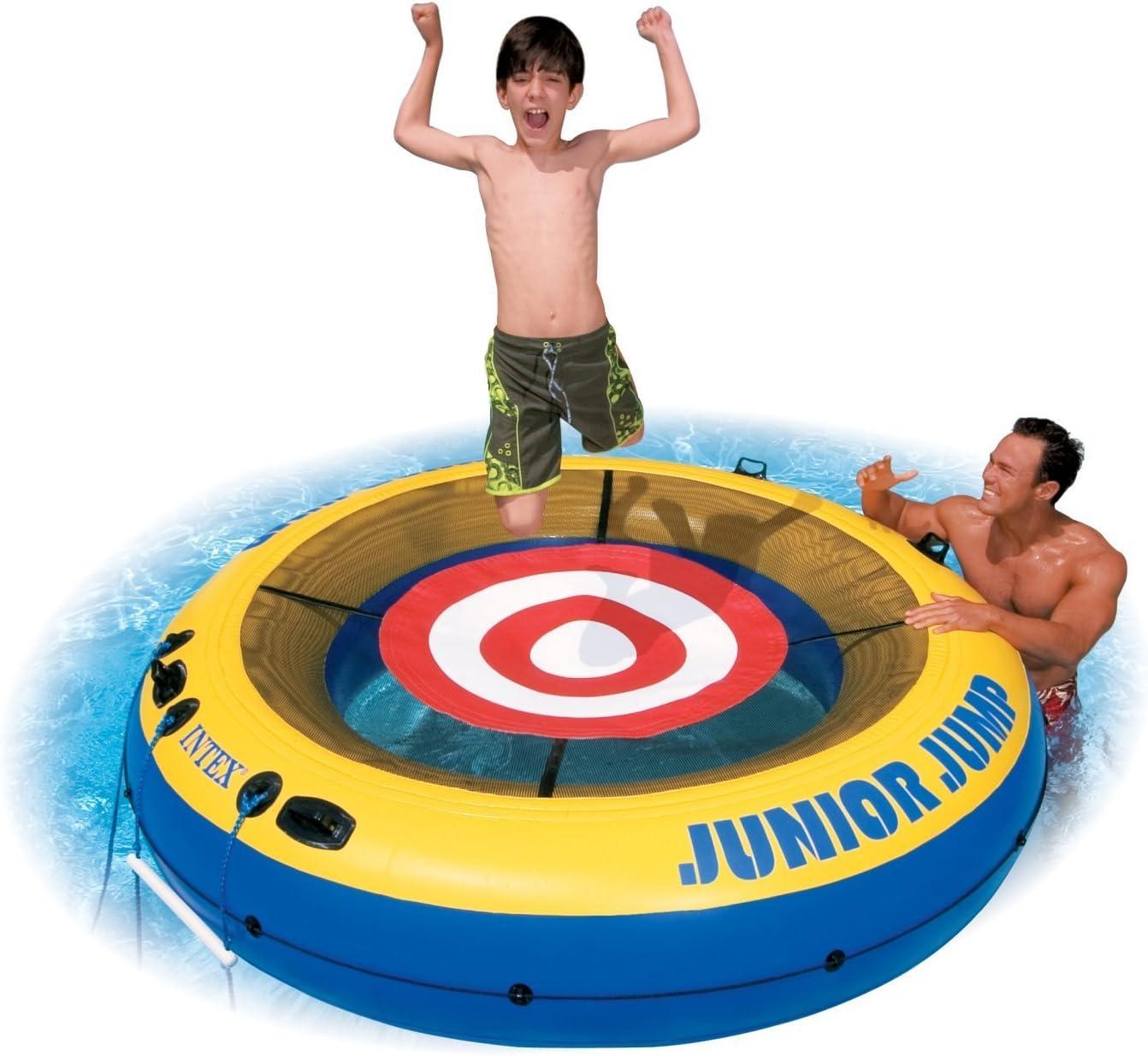Amazon.com: Intex Junior Jumper Cama Elástica de agua tubo ...