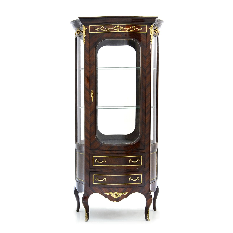 Vitrine - Stil Antik | Barock | Rokkoko | Louis XV / XVI | Klassische | Handgefertigt | Massivholz