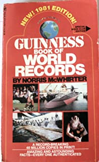 guinness book of world records 1975 edition norris mcwhirter