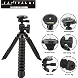 YANTRALAY SCHOOL OF GADGETS 12 inch Flexible Gorillapod Tripod with Mobile Holder, Mount and Ball Head for DSLR, Action Cameras ,Smartphones (Black)