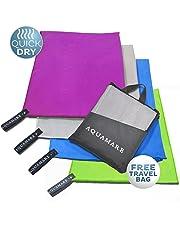 Microfibra toalla de secado rápido (130 x 80 cm) – Súper absorbente toalla de