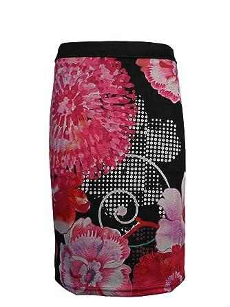 DESIGUAL Mujer Diseñador Falda - DANIELA -XL: Amazon.es: Ropa y ...