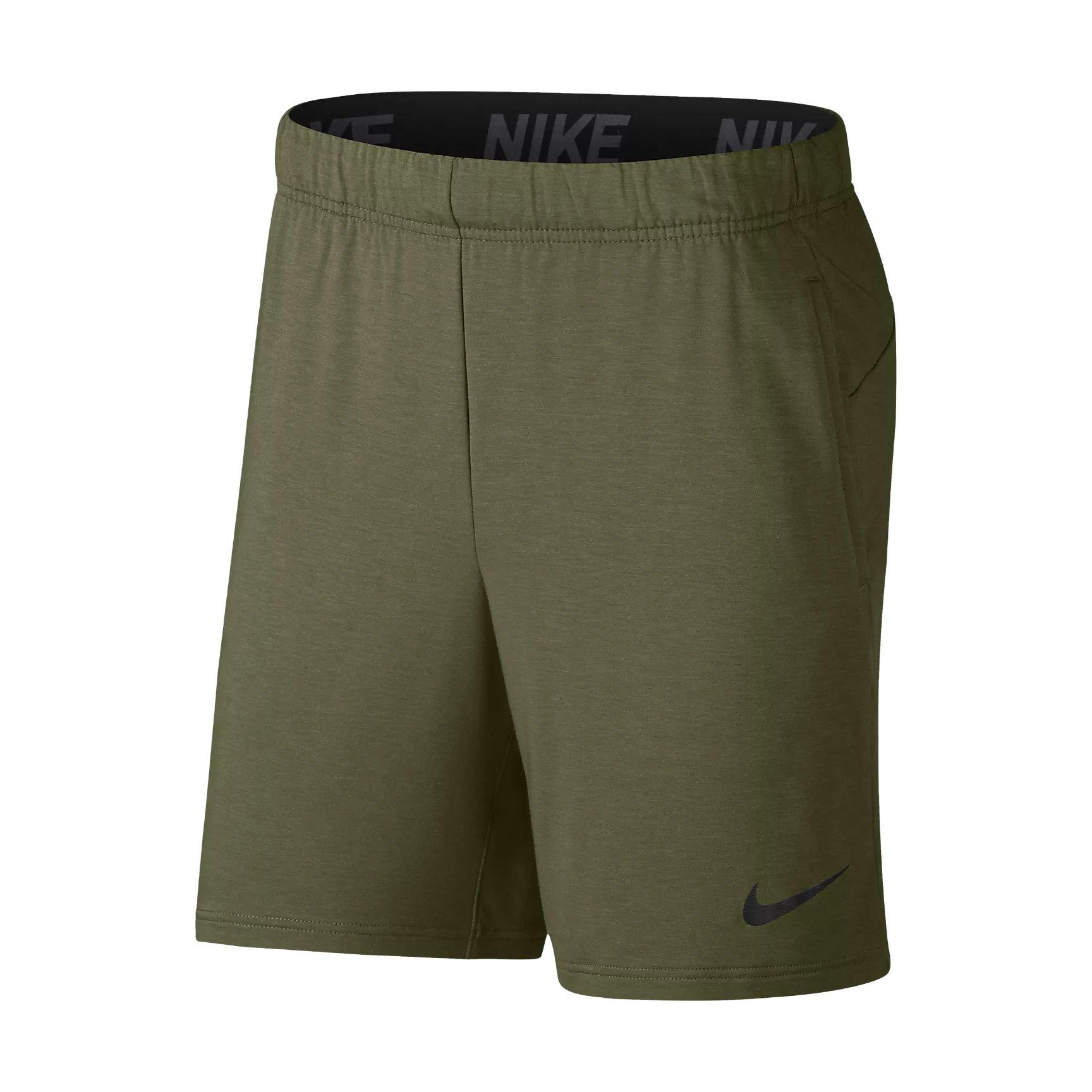 Nike Dri-FIT Men's 8'' (20.5cm Approx.) Training Shorts (Olive Canvas/Pure/Black, XXL)