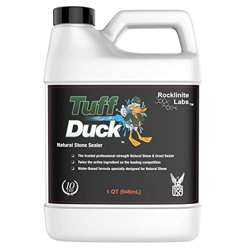 Rocklinite Labs Tuff Duck Granite, Grout, and Marble Sealer