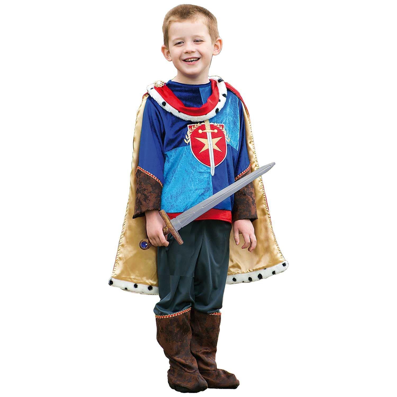 KIDS FANCY DRESS CRUSADER KNIGHT 3-5 YEARS 6-8 YEARS
