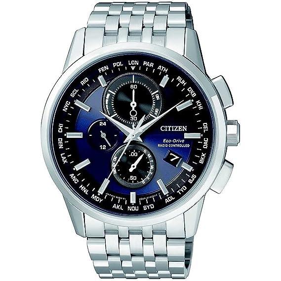 design senza tempo eb688 04e79 orologio cronografo uomo Citizen Eco-Drive trendy cod. AT8110-61L
