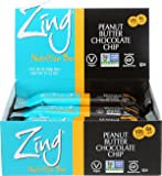 Zing Nutrition Bar, Peanut Butter Chocolate Chip, 1.76 Ounce (Pack of 12)