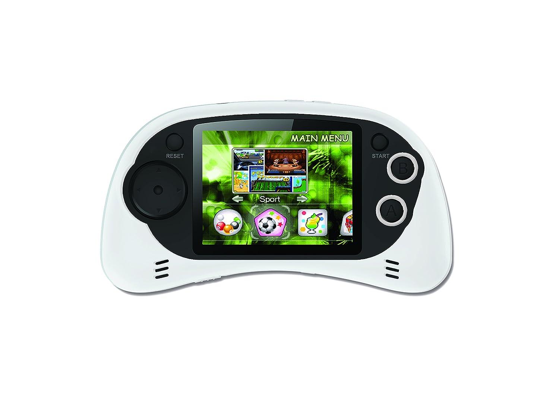 Power Arcade - Consola de 200 juegos, color blanco (Lexibook JL2385W)
