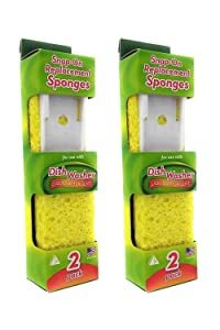 Arrow Refill Sponge #00008 - 2 Packs Of 2 Count = 4 Count
