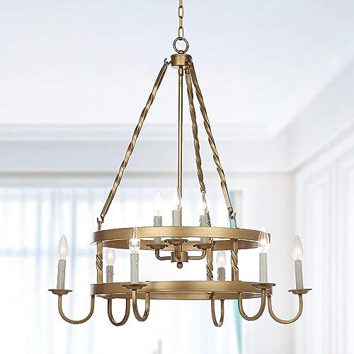 Safavieh Lighting Collection Crowley 31″ Adjustable Chandelier