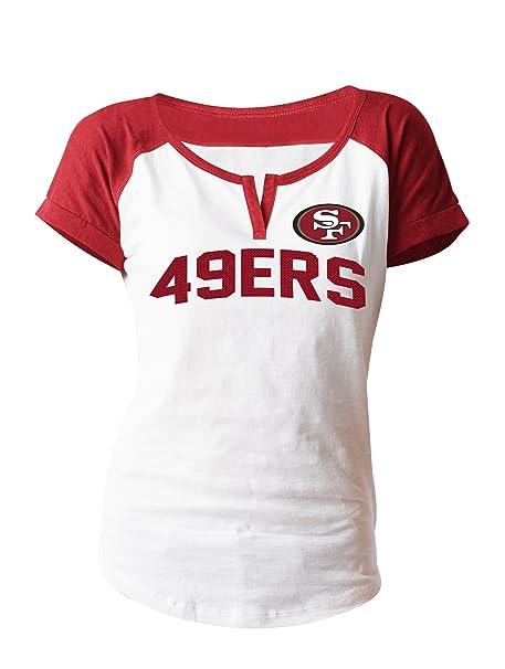 super popular 9c0fd c899f Amazon.com : A-Team Apparel NFL San Francisco 49ers Women's ...