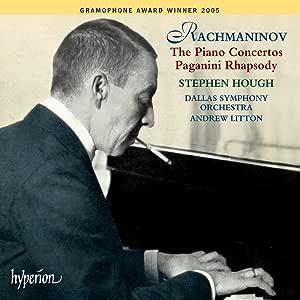Rachmaninov: Piano Concertos Complete Paganini Rhapsody