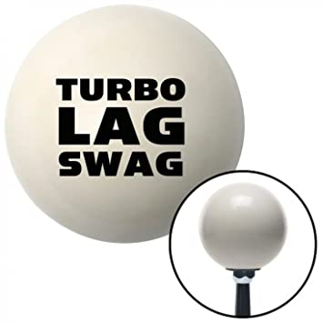 Amazon.com: American Shifter 34452 Ivory Shift Knob with 16mm x 1.5 Insert (Black Turbo Lag Swag): Automotive