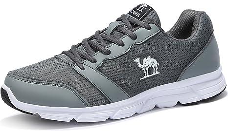 Camel Scarpe Sportive Scarpe da Corsa da Uomo Scarpe da Ginnastica  Traspiranti a Rete Traspirante per 8778e8a19da