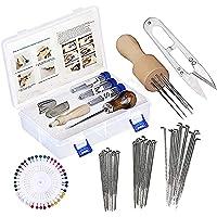conpoir Naaldvilten Kit Naaldvilten Starter Kit Vezelgaren Naaldschaar Vilten benodigdheden voor DIY Crafting Vilten Wol…