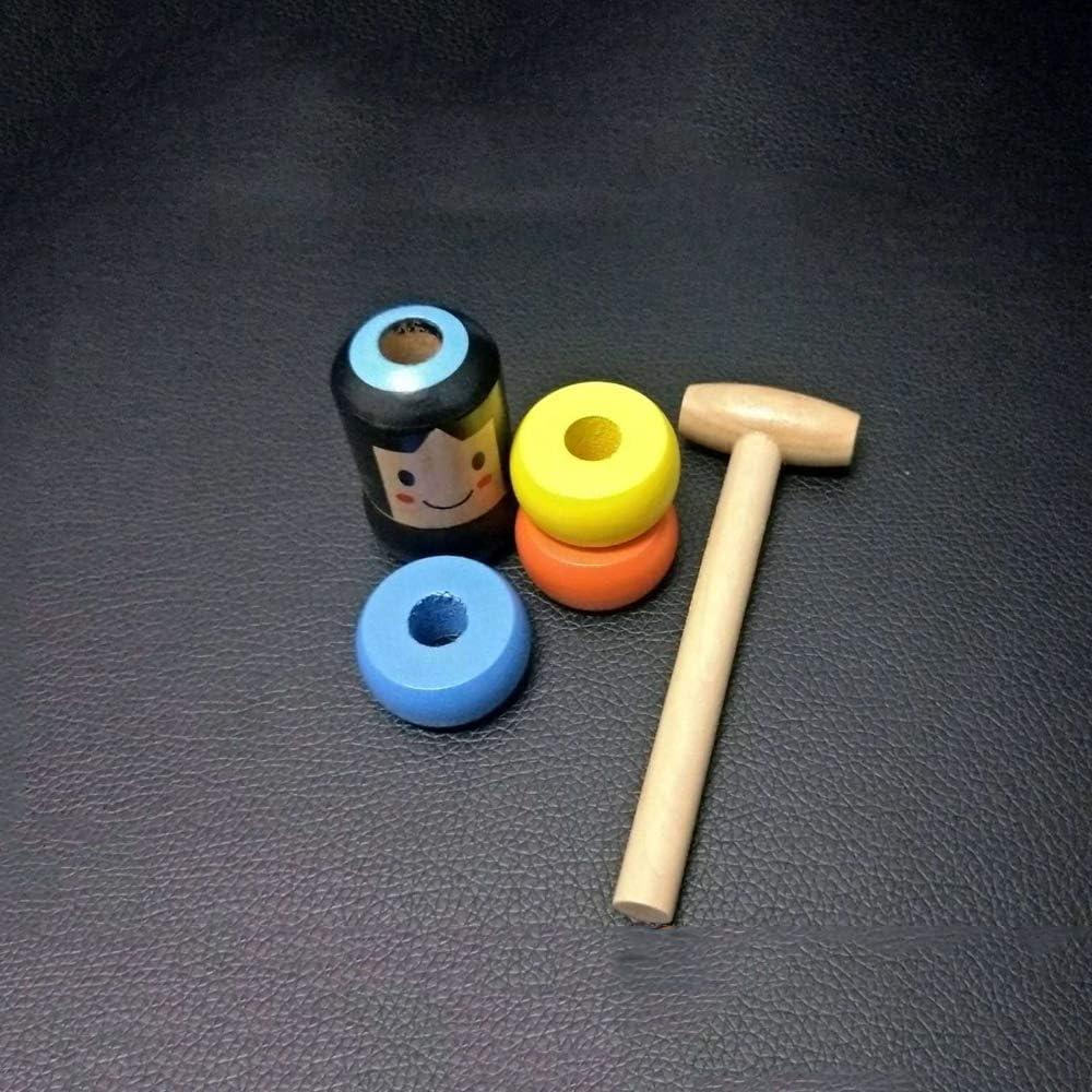 Tumbler-Spielzeug Unzerbrechliches Holzspielzeug f/ür M/änner unsterbliches Holzspielzeug 6PCS Self-Jumps Dodge Plaything Stage Magic formt Tricks Requisiten neu