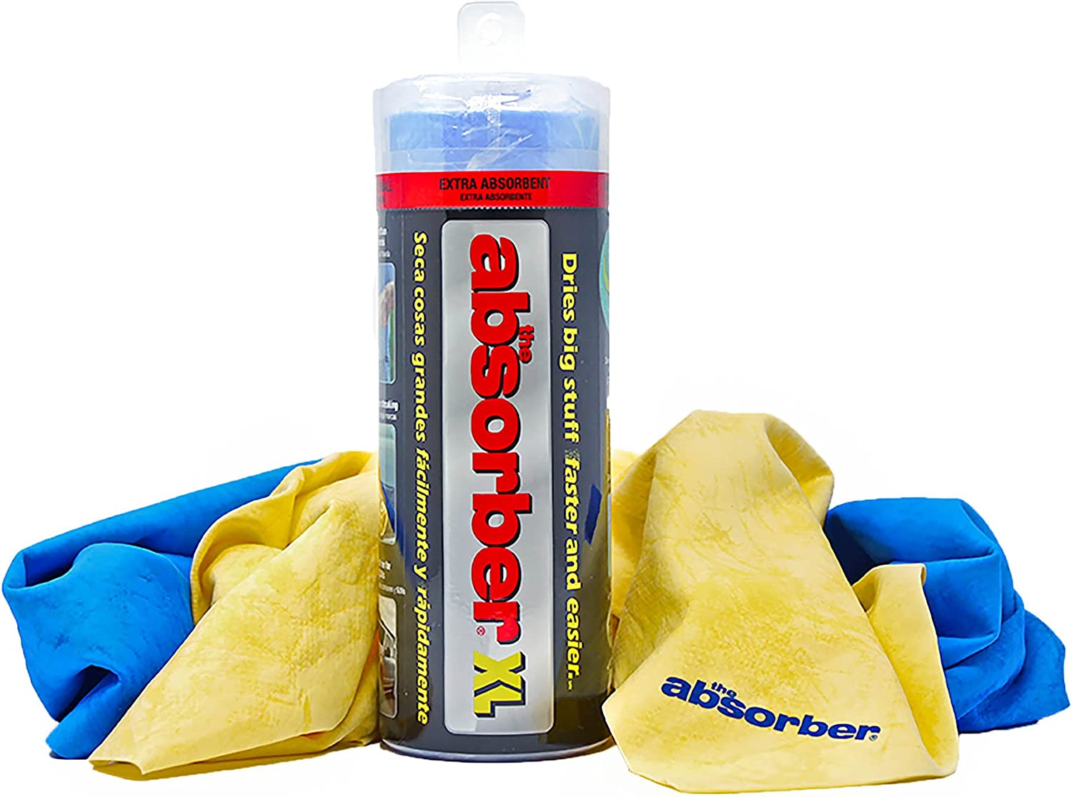 The Absorber 34900 X-Large Chamois, Single, Color May Vary: Automotive