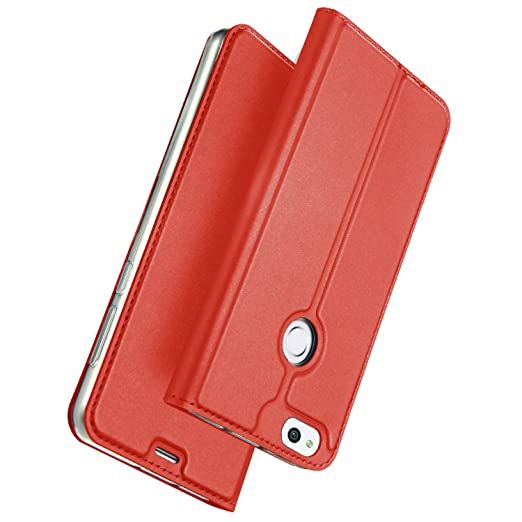 45 opinioni per ELTD Huawei P8 LITE 2017 Flip Cover, Wallet style Super Slim Perfect Fit Premium