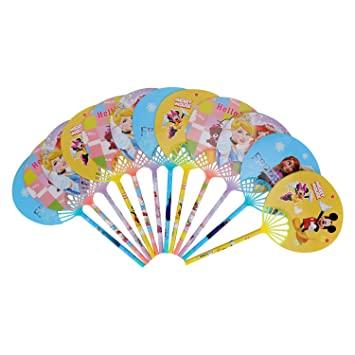 Asera 24 Pcs Fancy Gel Pen With Hand Fan For Kids Birthday Return Gifts Party Favours Favors Take Away Amazonin Toys Games