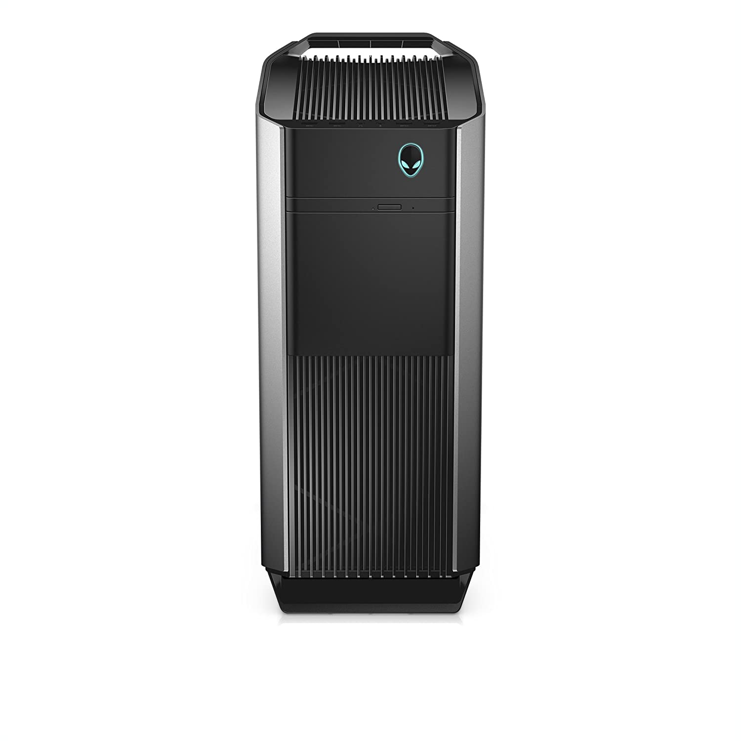 Dell Alienware Aurora Gaming PC Desktop, Liquid Cooled i7-8700K, NVIDIA GeForce RTX 2080 8GB DDR6 16GB 2666Mhz RAM, 256GB PCIe NVMe SSD + 2TB HDD, AWAUR7-7066SLV-PUS R7, VR Ready
