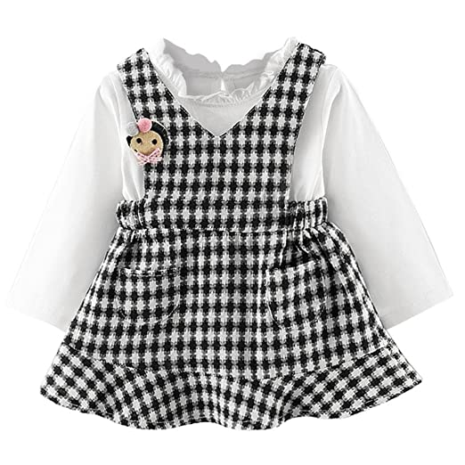 Amazon Baby Plaid Dresses Newborn Infant Clothes On Sale For 0
