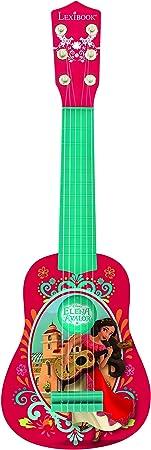Elena de Avalor K200EL, Disney-Mi Primera Guitarra, 6 Cuerdas, 53 cm, Instrumento niña (Lexibook: Amazon.es: Juguetes y juegos