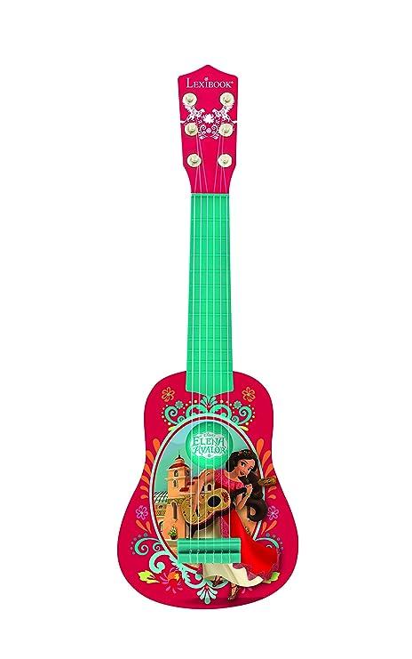 Elena de Avalor Mi Primera Guitarra, 6 Cuerdas Lexibook K200EL