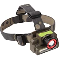 DOCOSS ABS 2 in 1 -Zoomable Military Ultra Bright Waterproof Cree USB Rechargeable Headlamp