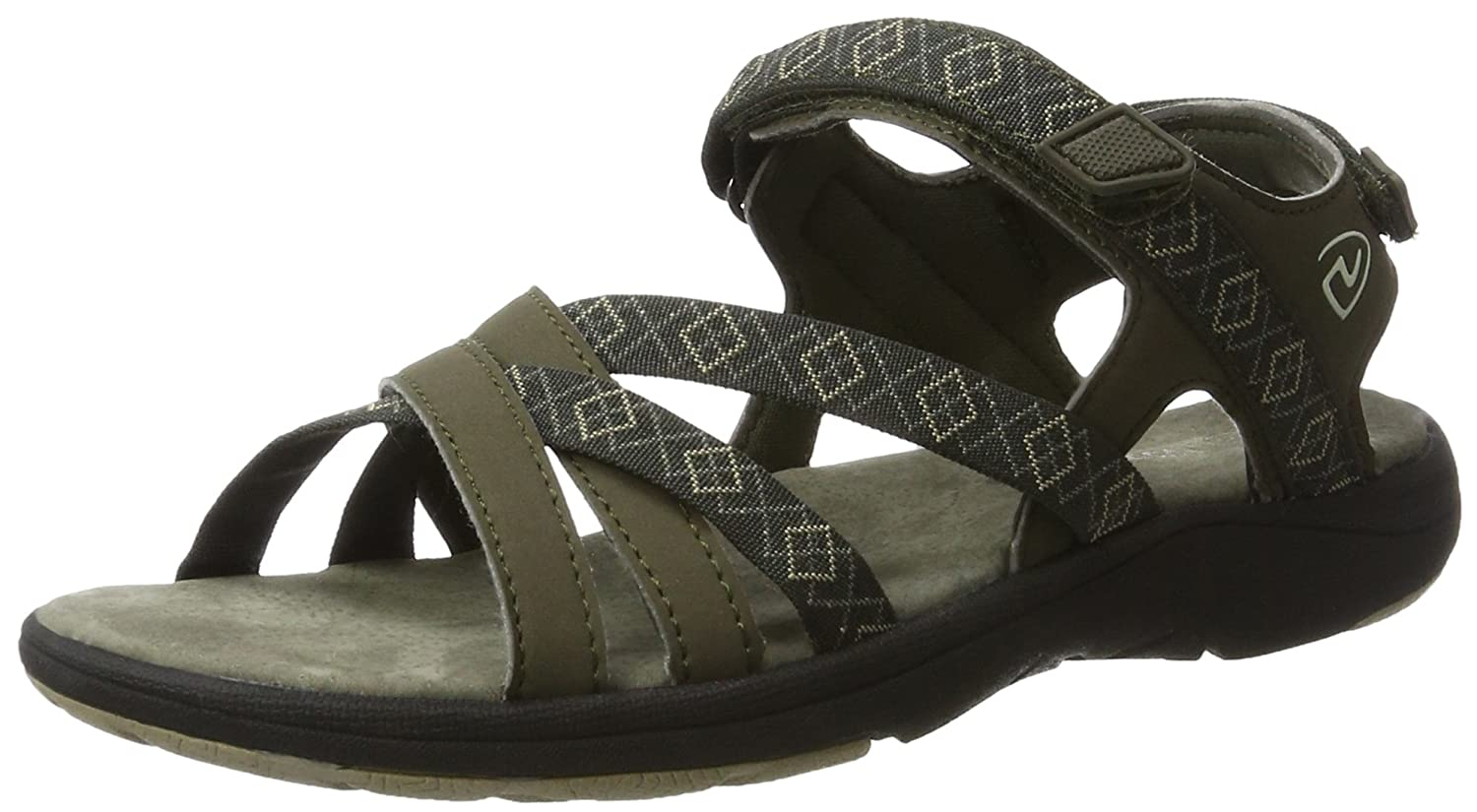 Northland Mia Leather Sandals, Sport Femme 02-08446