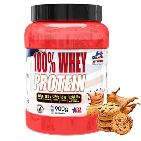 American Suplement - 100% whey protein, proteína en polvo ...