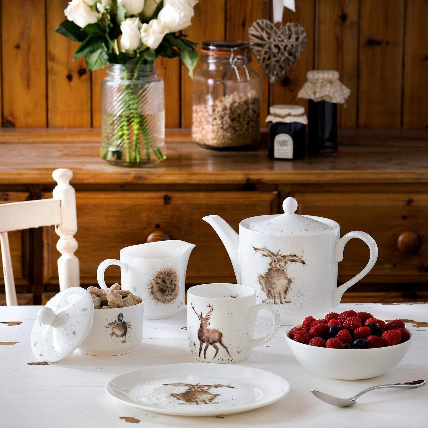 Portmeirion Home /& Gifts Wrendale by Royal Worcester Th/éi/ère Motif li/èvre