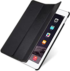 StilGut b00p15e6ww 9,7pouces étui à rabat noir étui pour tablette