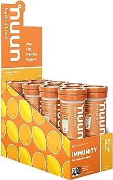8-Pack Nuun Immunity Antioxidant Immune Support Hydration Supplement